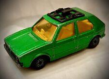 Vintage 1976 Matchbox - VW GOLF w/ Hitch - Lesney Superfast No. 7 - England
