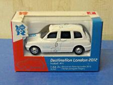 """Corgi TY66113 1/64 """"Destination London 2012"""" Taxi - Football #11 - White *NEW*"""