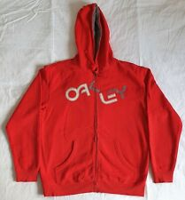 Oakley Mens Zipped Hoodie Large - Excellent Condition