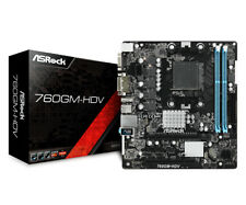 Asrock 760GM-HDV AM3+ Micro ATX DDR3-SDRAM Motherboard