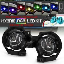 <Ultimate RGB LED Bulbs> For 11-17 Nissan Leaf Front Bumper Fog Light w/Bracket