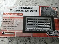 Witten Automatic Vent Company Brown Auto Foundation Vent 306MBR