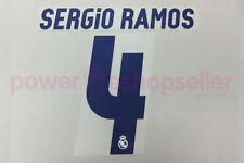 Real Madrid 2016/2017 #4 SERGIO RAMOS Home Nameset Printing