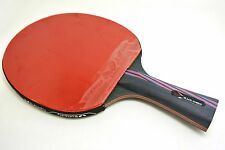 XVT NANO CARBON 40+ With Tenergy 80  Rubber Hand assemble table tennis Racket