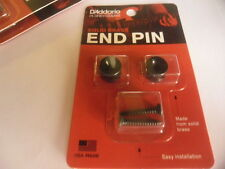 PLANET WAVES PWEP102 Solid brass End Pin- Black- NEW