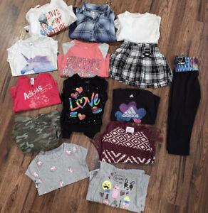 """""""Lot of 14!!"""" Justice & Adidas Only Girls Sz. 7/8, Skort, Tights, Shirts,+ More!"""