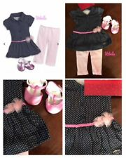 """American Girl Dot Dress Outfit for 18"""" dolls NEW TRULY ME"""