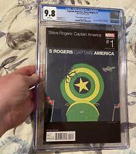 Steve Rogers Captain America #1 CGC 9.8 Hip Hop Variant 1st Hydra Cap America