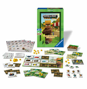 26869 Ravensburger Minecraft Farming and Trading Card Game Children Age 10yrs+