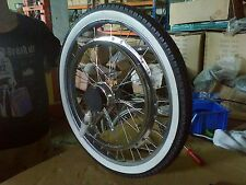 "Rear 24"" wheel assembly fits whizzer Cruzzer motorbikes and others"