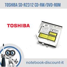 TOSHIBA LETTORE CD-RW /DVD-ROM Reader L Data Storage sd-r2312 IDE SLIM