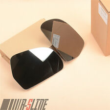 A Pair Wing Mirror Glass Outside L+R For AUDI A3 A4 B8 A6 C6 A8 Q3 Superb New