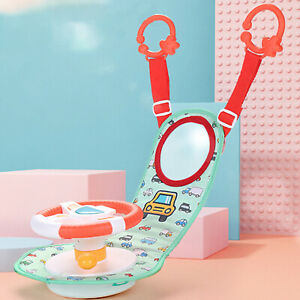 Kids Baby Car Seat Driver Steering Wheel Toy Role Play Game Pretend Toys