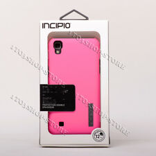 Incipio DualPro Dual-Layer Hard Shell Snap Cover Case For LG X Power - Pink/Gray