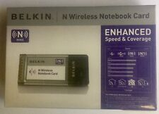 NIB Belkin Wireless N Notebook Network Card Adapter F5D8013 Laptop BRAND NEW