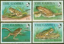 Gambia 1982 Frogs set of 4 SG488-491 V.F MNH