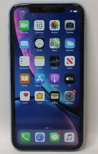 SPRINT APPLE IPHONE XR 64GB MT4F2LL/A 13.7 BLUE - BAD *READ*