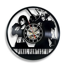 Final Fantasy VII 7 Play Brand New Vinyl Record Decor Wall Clock