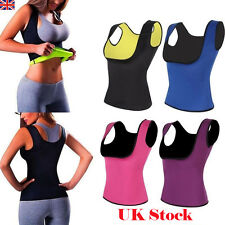 Hot Shapers Women Neoprene Body Shaper Slimming Waist Tops Slim Belt Yoga Vest
