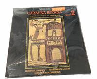 Clemencic Consort - Carmina Burana. New Vinyl LP Sealed  (Import) HMU336