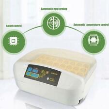 Digital 32 Egg Incubator Automatic Hatcher Temperature Control Chicken Bird New