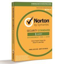 Norton™ Sicherheitssoftware | Optimiertes Antivirus-Programm 1 Pc 2018
