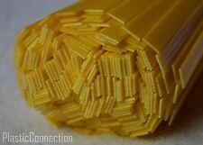 Pp PLASTIQUE Baguettes de Soudage 10mm Triangulaire, 20 Pièces, Jaune, Tampons,