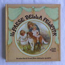 NISTER IL PAESE DELLA FELICITA' 1983 Mondadori Libro animato