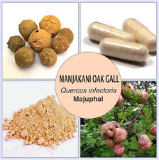 120 CAPSULES MANJAKANI OAK GALL (Quercus infectoria) 730mg/caps for Women Health