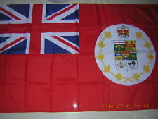 British Empire Flag Canadian Red Ensign 1873 Canada 3ftX5ft GB UK EIIR QEII HM
