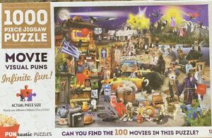 Puzzles: PUNtastic Puzzles - Movie Visual Fun (complex + 1,000 Pces + free Post)
