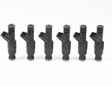 Set of 6 19LB Type III EV1 Fuel Injectors For Jeep 4.0L TJ XJ YJ