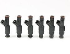 Set of 6 19LB Type III EV1 Fuel Injectors For Jeep 4.0L TJ XJ YJ