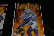 LADY DEATH KILLERS  #1 INFERNO EDITION SIGNED BY PULIDO WITH COA   57/69!!