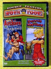 Dennis The Menace: Cruise Control/ The Archies: Jugman ~ DVD New Sealed RARE