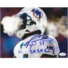 NFL Miami Dolphins Ricky Williams #34 8x10 Autograph Signed Photograph JSA Puff