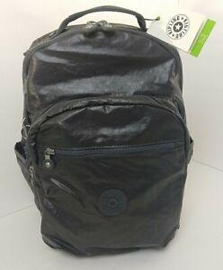 "NEW KIPLING Seoul Extra Large 17"" Laptop Backpack Travel Bag Slate Laquer KI5764"