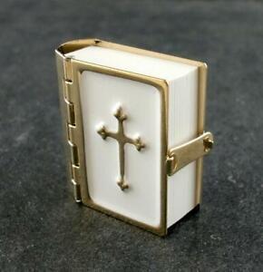 Casa Delle Bambole Bibbia Con Stampato Pagine Miniatura Church Accessorio