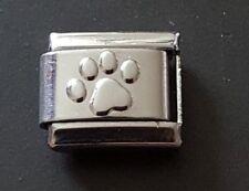 Dog Paw Print Italian Charm LINK