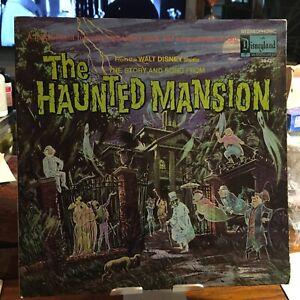 The Haunted Mansion LP Walt Disney Disneyland  3947 1969 VG+/VG w/Booklet