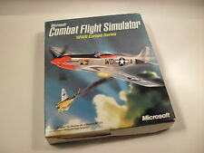Microsoft COMBAT FLIGHT SIMULATOR WWII Europe Series Pc Cd Rom Original BIG BOX