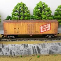 HO Scale Custom Painted Weathered Train Freight Box Car Oscar Mayer