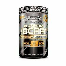 (15€/100g)Muscletech Essential Series Platinum 100% BCAA 8:1:1 200Tbl/200g+Bonus
