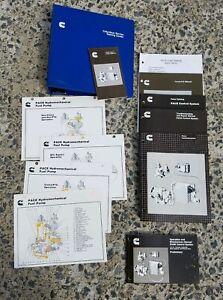 1987-1989 Cummins PACE Operations & Maintenance Service Manuals (Training Set)