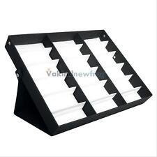 18 Slots Sunglasses Display Counter Stand Storage Rack Cabinet Organizer Tray V
