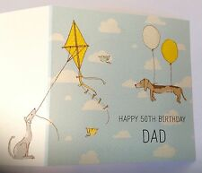 PERSONALISED DOGS BIRTHDAY CARD Son Dad Daddy Grandad 18th 21st 30th 40th 50th