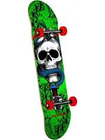 Powell Peralta Green Skull and Snake One Off - 7.625 Inch Skateboard Complete