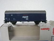 Märklin HO 84627 Güterwagen Märklin Magazin 1991 (RG/CJ/039-11S2/3)