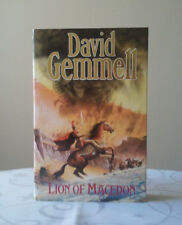 Lion of Macedon by David Gemmell. Hardback. 1990 1st/1st Rare