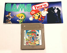Super Mario Land 2 6 monedas de oro Nintendo Game Boy Gameboy Color probado ukv